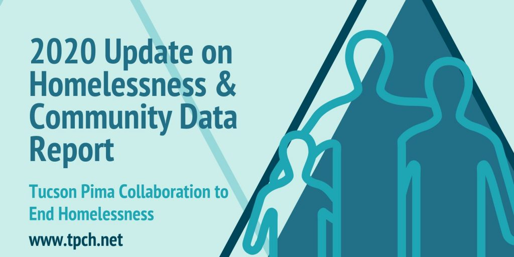 2020 Update on Homelessness & Community Data Report Banner