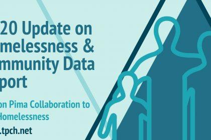 2020 Update on Homelessness & Community Data Report Banner