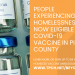 PEH Now eligible for COVID-19 Vaccine