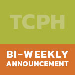 TPCH Bi-Weekly Announcements