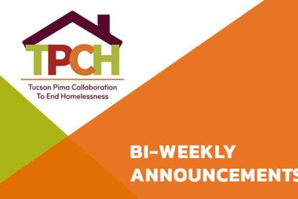 TPCH Bi-Weekly Announcements