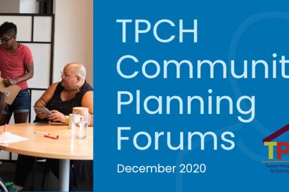TPCH Community Planning Forums