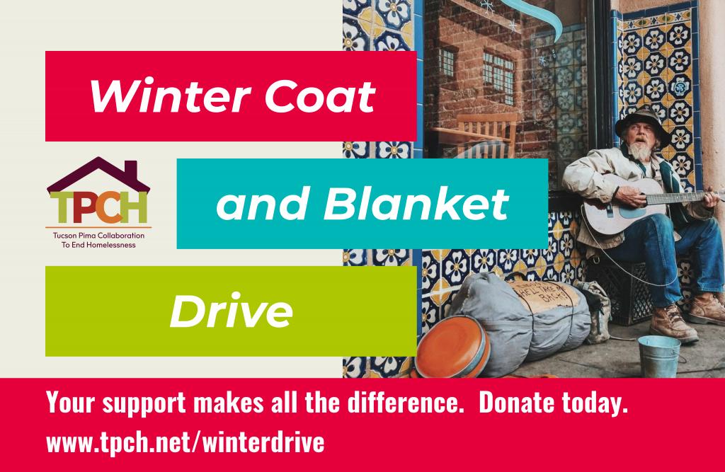 冬季大衣和毯子驱动器横幅