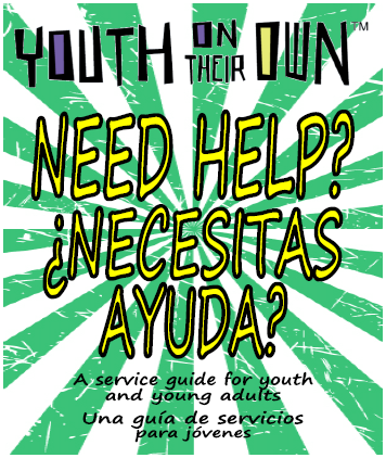 Youth need help flyer